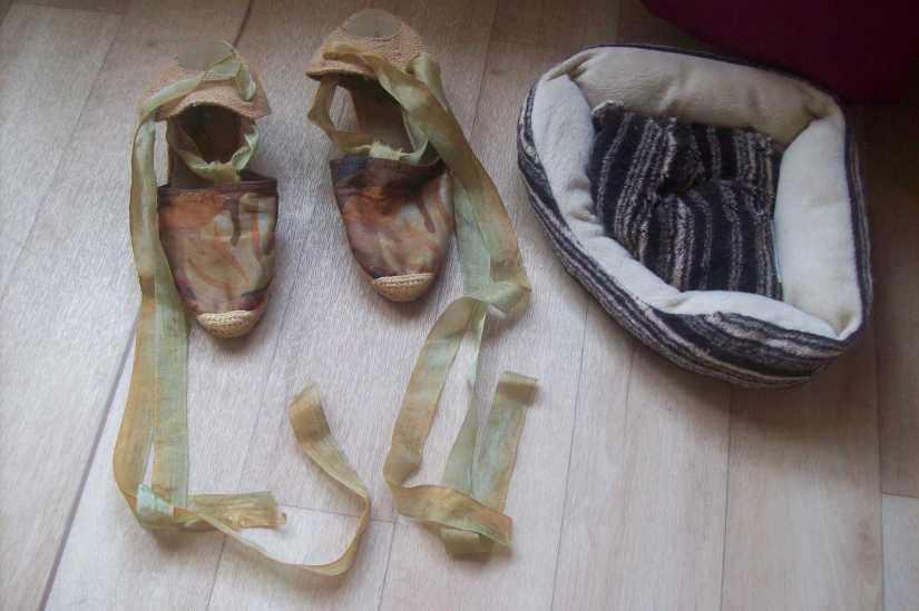 canap et sandales